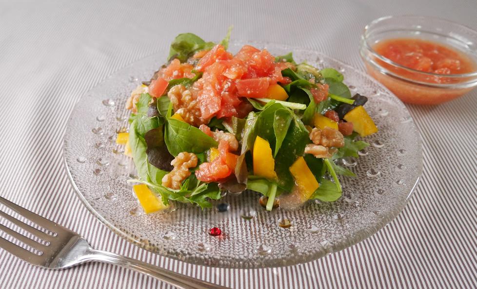 おから味噌インストラクター直伝!野菜たっぷり「塩麹トマトドレッシング」