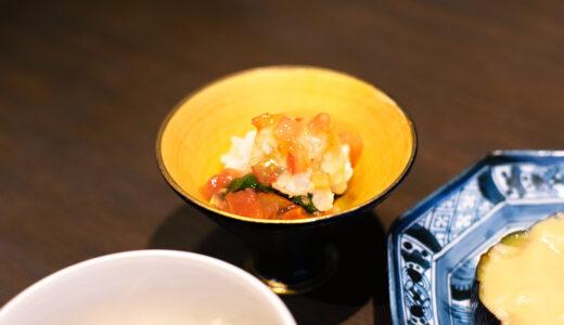 京都一の傳 本店 料理長の和食講座〈vol.1〉 – 7月のレシピ紹介:「鱧」×発酵食品「酢」